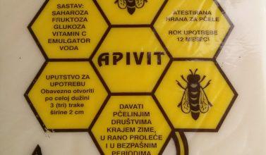 pogača za prehranu pčela